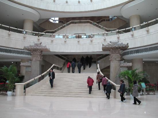 Chongqing Municipal Museum (Chongqing Shi Bowuguan) : 博物馆内部