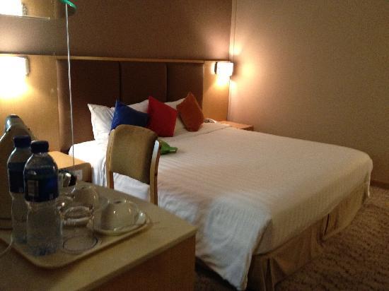 Novotel Xinqiao Beijing:                   高级大床房