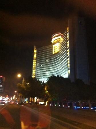 Huafang Jinling International Hotel Zhangjiagang : 酒店外景