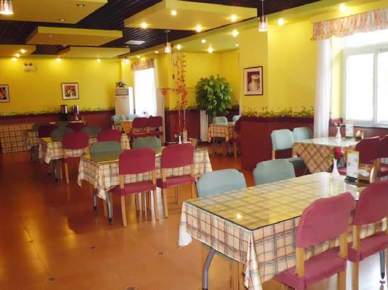 Home Inn (Jinzhou Stadium) : 餐厅,自助早餐31种,12元一位
