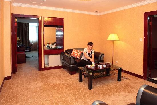 Shiji Changguan Hotel: 大使套房客厅
