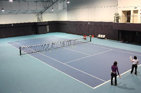 Sijia International Service Apartments: 网球场
