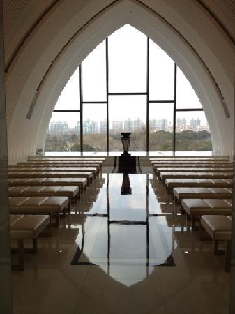 WH Ming Hotel Shanghai: 小南国里面的教堂
