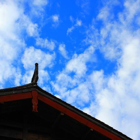 Lijiang Lu House Boutique Hotel: 锦庐屋顶