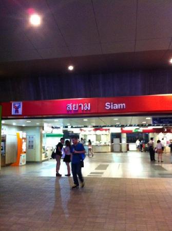 Ibis Bangkok Siam: siam地铁