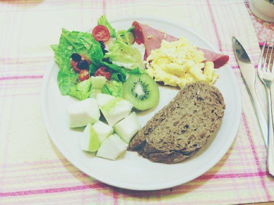 At-Home B&B: 精致的早餐