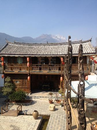 Baisha Holiday Resort Lijiang: 酒店的位置