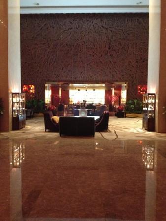 Sheraton Grand Beijing Dongcheng Hotel: 酒店大堂的bar