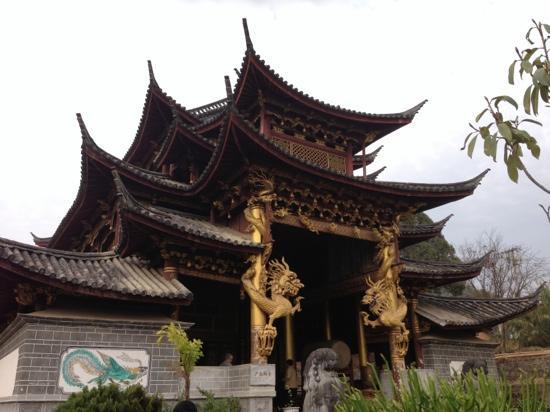 Cangyuan County, Cina: 建筑很漂亮