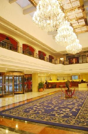 Ronghu Lake Hotel: 酒店大堂