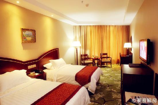 Hawaii Hotel: 市景双床房
