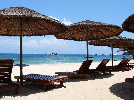 Hawaii Hotel : 私家沙滩