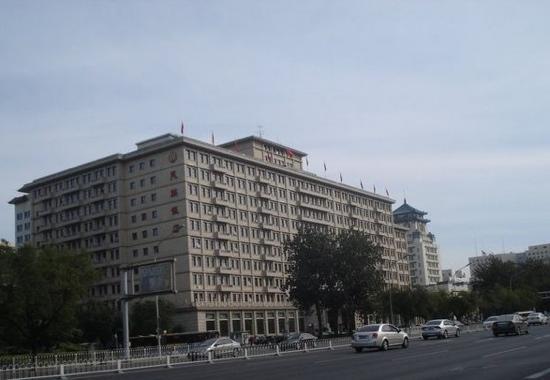 Beijing Minzu Hotel:                   外景                 