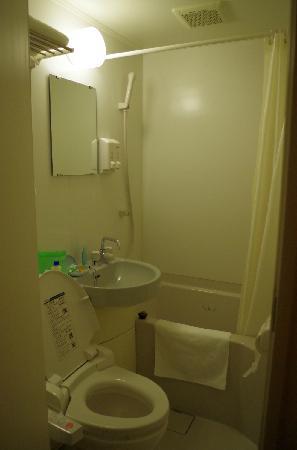 Super Hotel Osaka Tanimachi 4 Chome:                   洗手间