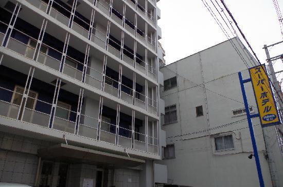 Super Hotel Osaka Tanimachi 4 Chome :                   外观