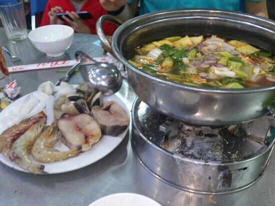 Ba Thoi Restaurant:                                     海鲜火锅