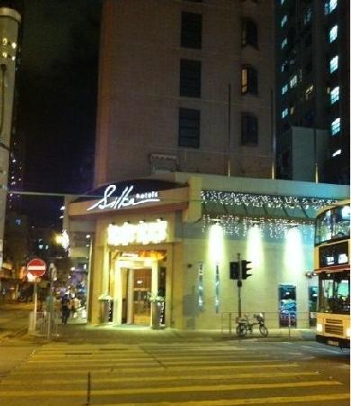 โรงแรมซิลกา ซีวิว:                   夜景