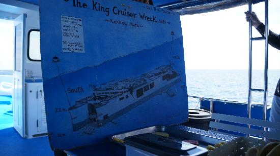 Sea Fun Divers - Day Trips:                   沉船潜的简报