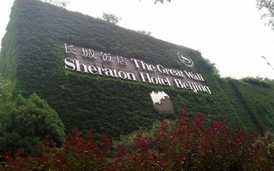 The Great Wall Hotel:                   长城饭店