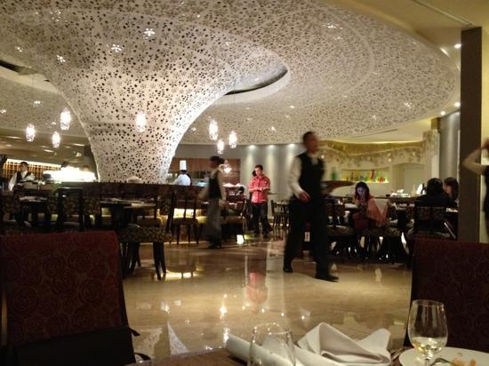 Hotel Mulia Senayan, Jakarta:                                     餐厅