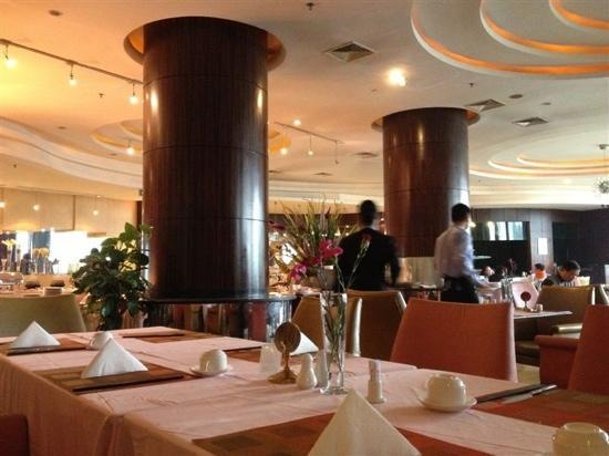 Huarui Danfeng Jianguo Hotel:                   早餐厅