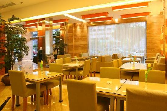 Rest Motel Wenzhou Quxi : 餐厅