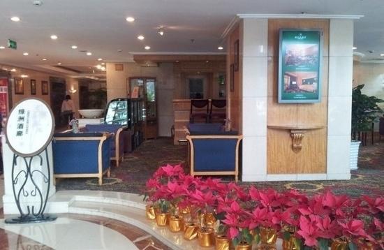 Green Land Hotel:                   大堂