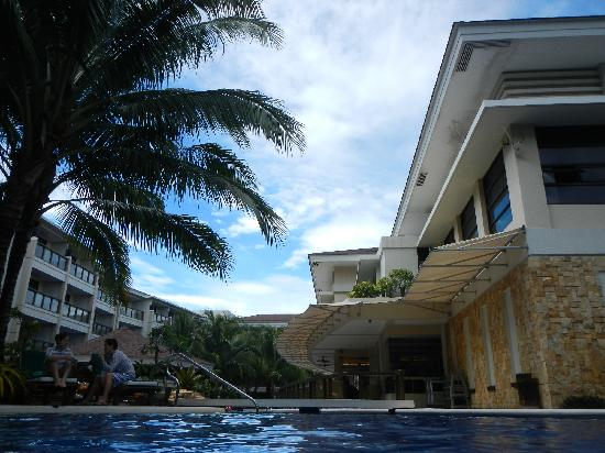 Henann Lagoon Resort:                   pool veiw