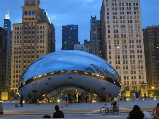 Chicago, IL: 云门