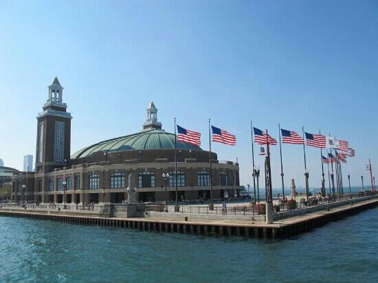 Chicago Shakespeare Theater on Navy Pier: 海军码头莎士比亚剧院