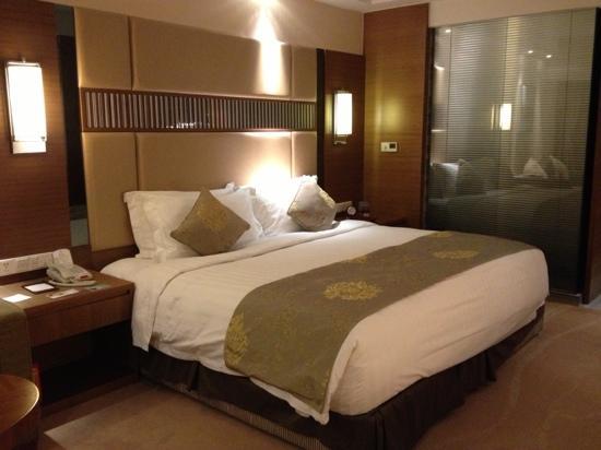 Galaxy Minyoun Chengdu Hotel : 大床