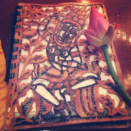 New Apsara Guest House : menu