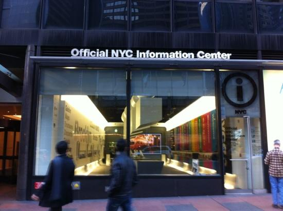 New york city 39 s official visitor information center top tips before you go with photos - Tourist office new york city ...