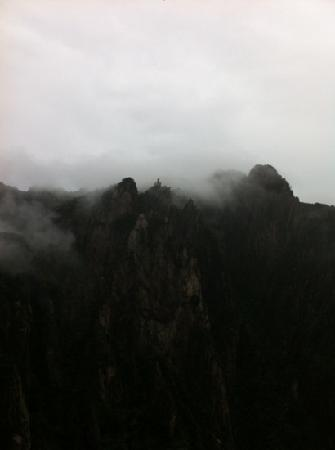 Celestial Capital Peak (Tian Du Feng):                   俯瞰