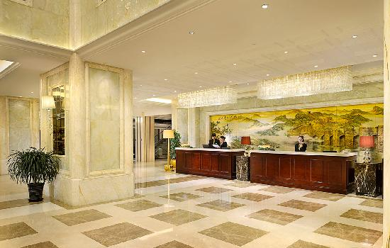 Liaoning International Hotel : 酒店前台