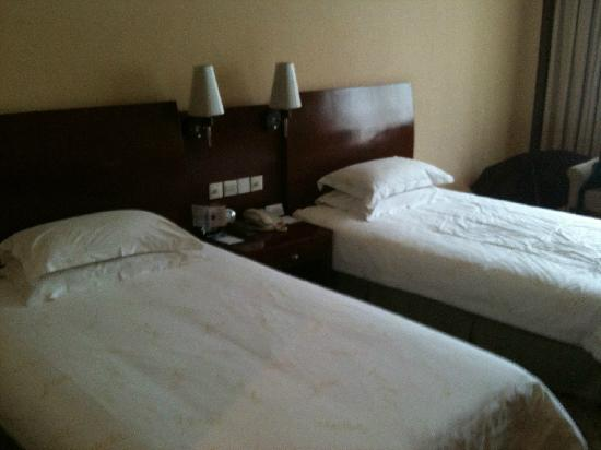 Centron International Hotel:                   床