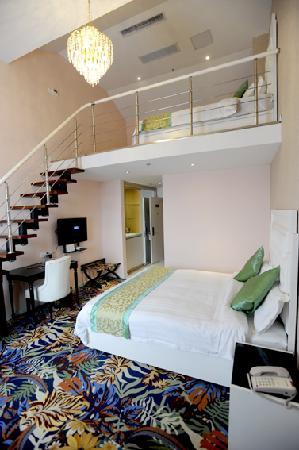 Chengshi Yuntong Huayuan Hotel: 豪华家庭套房