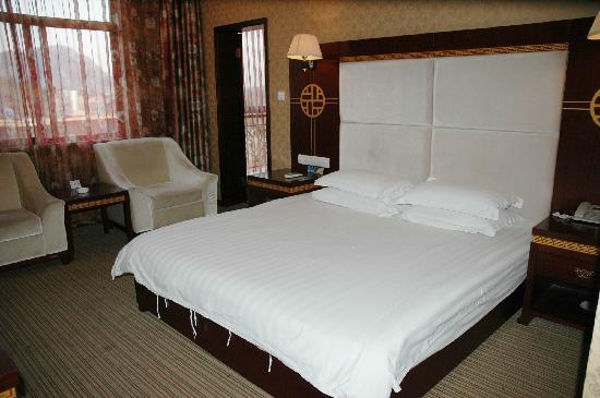 Fengya Lanzhuang Tourist Villa:                   风雅兰庄旅游度假酒店大床房