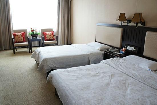Zijinghua City Chain Hotel Guilin Jinwan :                   床