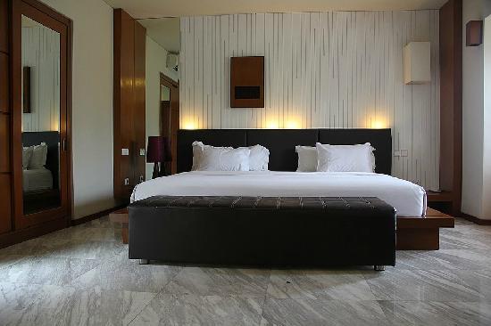 Abi Bali Resort & Villa:                   Kingsize床
