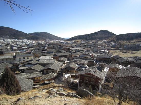 Dukezong Ancient Town: 屋顶
