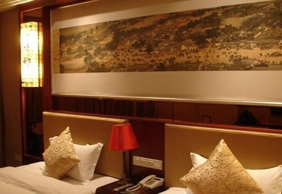 Dongfang Huayuan Hotel : 卧室