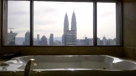 Sheraton Imperial Kuala Lumpur Hotel: 浴缸