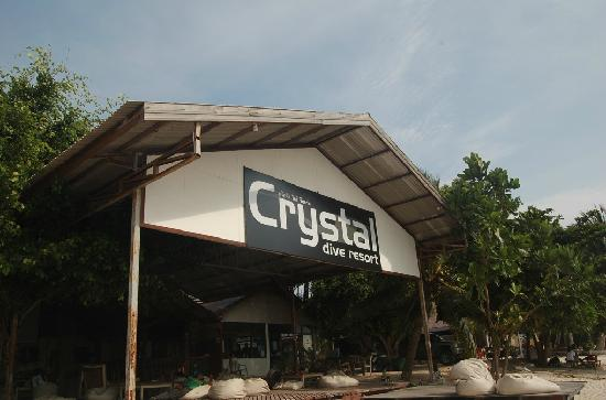 Crystal Dive Resort: 大招牌