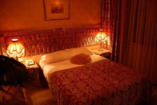 Hotel Albatros Premier: 很小的房间 暧昧的灯光