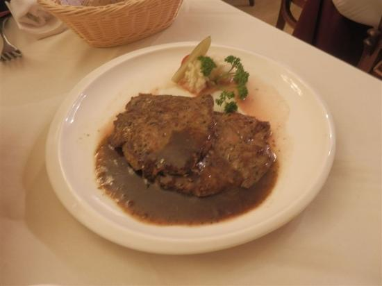 Ma Die Er Western Restaurant: 牛排一道