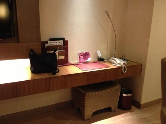 Galaxy Minyoun Chengdu Hotel : 写字台