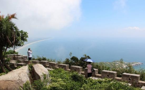 Tonggu Ridge : 铜鼓岭下望