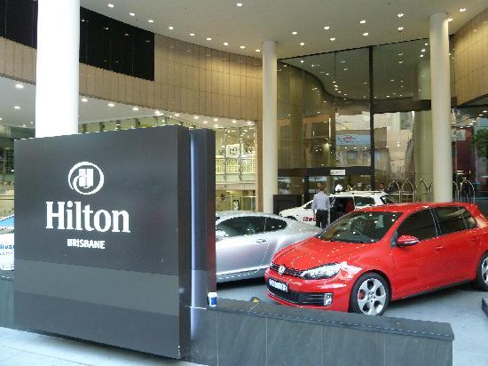 Hilton Brisbane: 招牌二