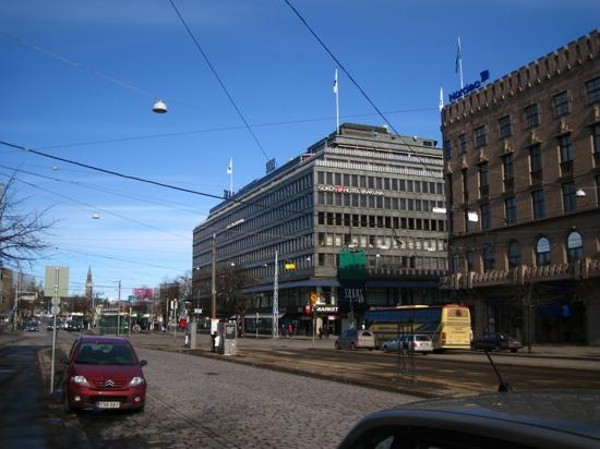 Original Sokos Hotel Helsinki: 酒店外观